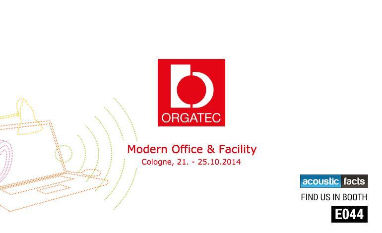 Orgatec 2014 acousticfacts.com
